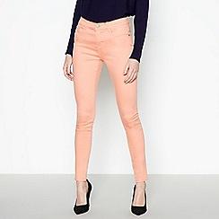 Principles - Peach Mid Rise Skinny Jeans