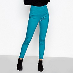 Principles - Green pull on jeggings