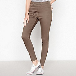 Principles - Khaki Pull On Jeggings