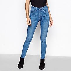 Principles - Mid blue mid wash 'sculpt' skinny jeans