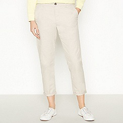 Principles - Natural Tapered Chino Trousers