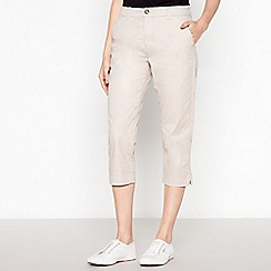 Principles - Natural Cropped Chinos
