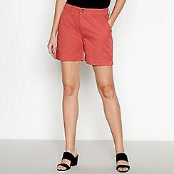 Principles - Orange Chino Shorts