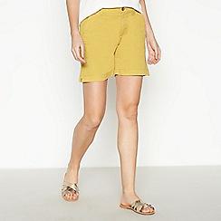 Principles - Yellow Chino Shorts