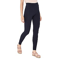 The Collection - Navy jersey leggings