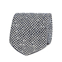 Hammond & Co. by Patrick Grant - Navy dogtooth tie