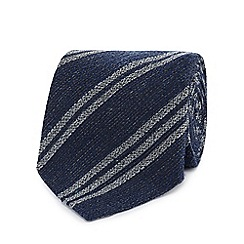 Hammond & Co. by Patrick Grant - Navy striped tie