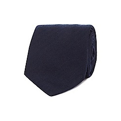 Hammond & Co. by Patrick Grant - Navy plain tie