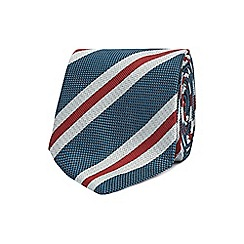 Jeff Banks - Multi-coloured striped silk tie