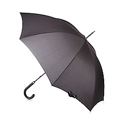 Fulton - Black 'Governor' large umbrella