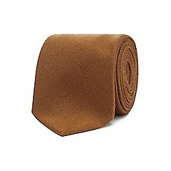 J by Jasper Conran - Gold textured luxury tie