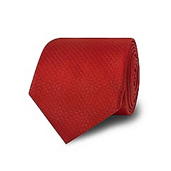 TM Lewin - Orange silk tie