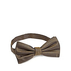 Hammond & Co. by Patrick Grant - Gold silk textured bow tie