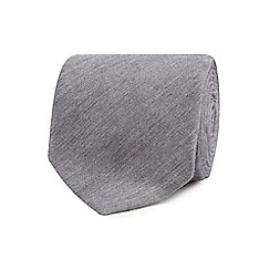 Hammond & Co. by Patrick Grant - Grey chambray tie