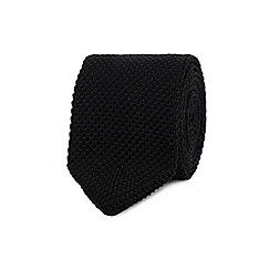 Red Herring - Black knitted tie