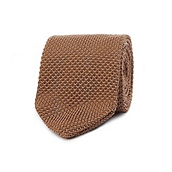 Red Herring - Camel knitted tie