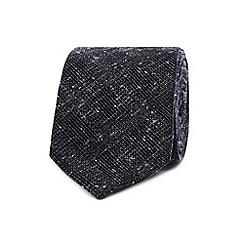 Hammond & Co. by Patrick Grant - Navy textured check tie