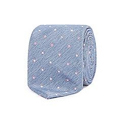 Red Herring - Blue polka dot tie