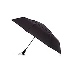 Fulton - Black compact performance tornado umbrella