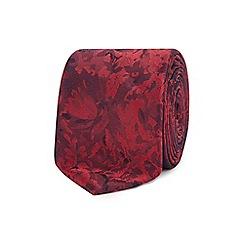 Red Herring - Red floral tie