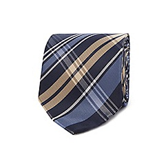 The Collection - Navy checked tie