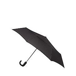 Fulton - Black 'Open & Close' automatic umbrella