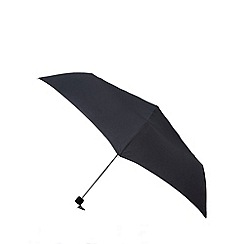 Fulton - Black extendable slim umbrella