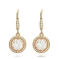 Anne Klein - Gold eurowire earrings
