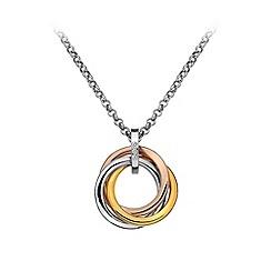 Hot Diamonds - Trio ring pendant