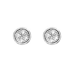 Hot Diamonds - Circle earrings