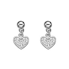 Hot Diamonds - Heart earrings