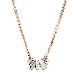 Fossil - Classic rose necklace