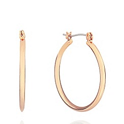 Pilgrim - Rose gold plated hood earrings
