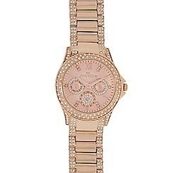 RJR.John Rocha - Rose gold Swarovski crystal chronograph watch