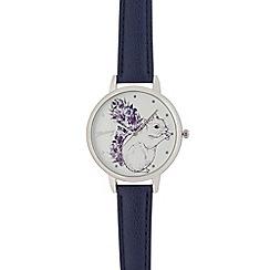 Mantaray - Ladies blue squirrel analogue watch