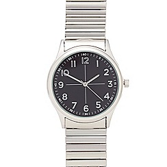Infinite - Men's silver analogue watch