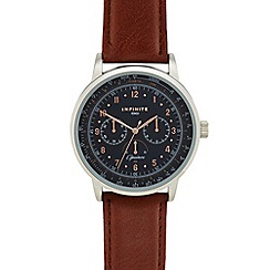 Infinite - Men's light brown analogue watch