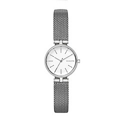 Skagen - Ladies silver 'Signatur' quartz bracelet watch