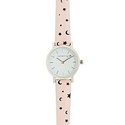 Red Herring - Ladies pink analogue watch