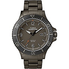 Timex - Men's expedition stainless steel bracelet watch