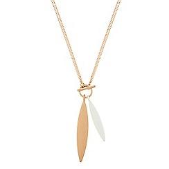 Pilgrim - Mix metal plated 'Luna' necklace