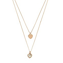 Pilgrim - Rose gold plated 'Mila' necklace