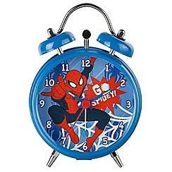 Spiderman - Mini multi-coloured 'Spiderman' alarm clock