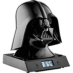 Star Wars - Multi-coloured projection alarm clock