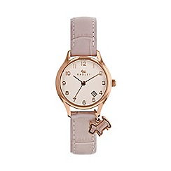 Radley - Ladies pink 'Liverpool Street' mini watch RY2588