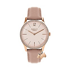 Radley - Ladies pink 'Millbank' watch RY2524