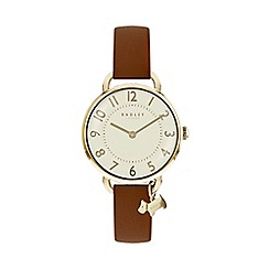 Radley - Ladies brown 'Southwark Park' watch RY2546