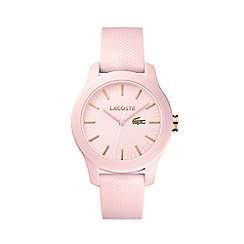 Lacoste - Ladies pink strap watch
