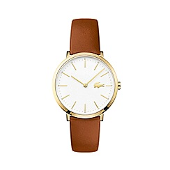 Lacoste - Ladies brown strap watch