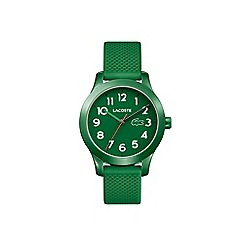 Lacoste - Kids green strap watch